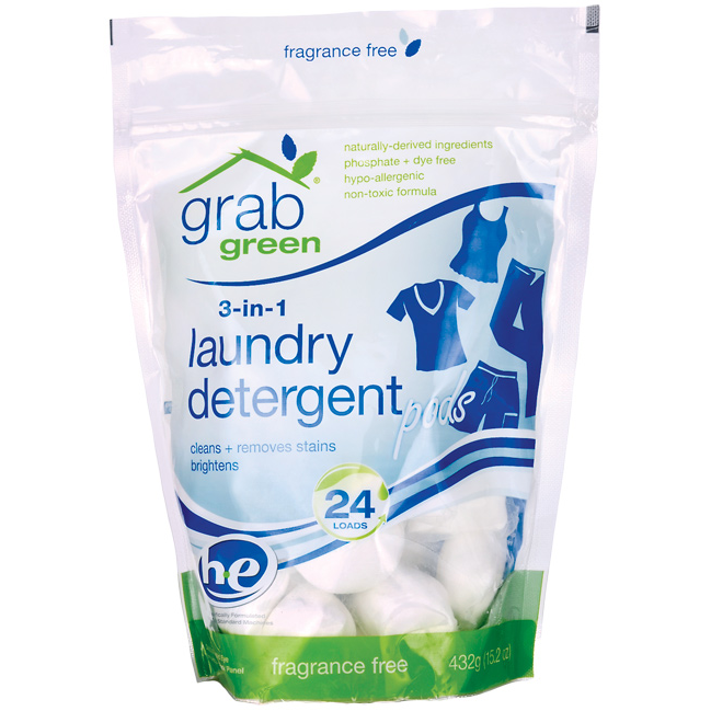 laundry detergents packs
