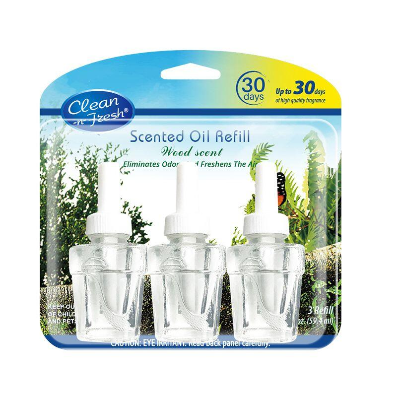 3PK scented oil plug in refills