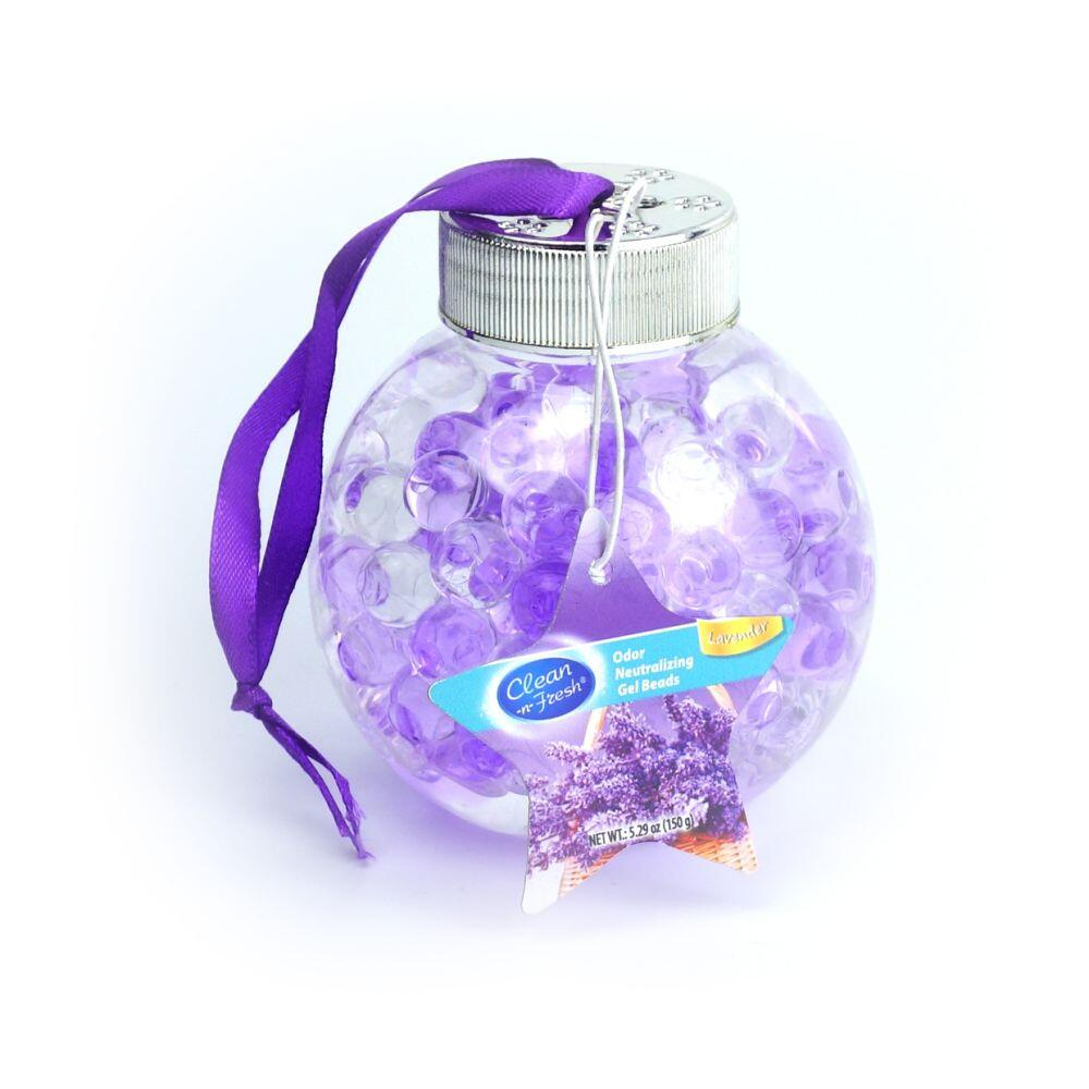 150g hanging ball-shaped crystal beads air freshener