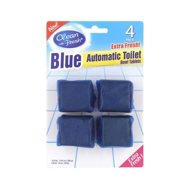 4PK Toilet tank square clean tablets