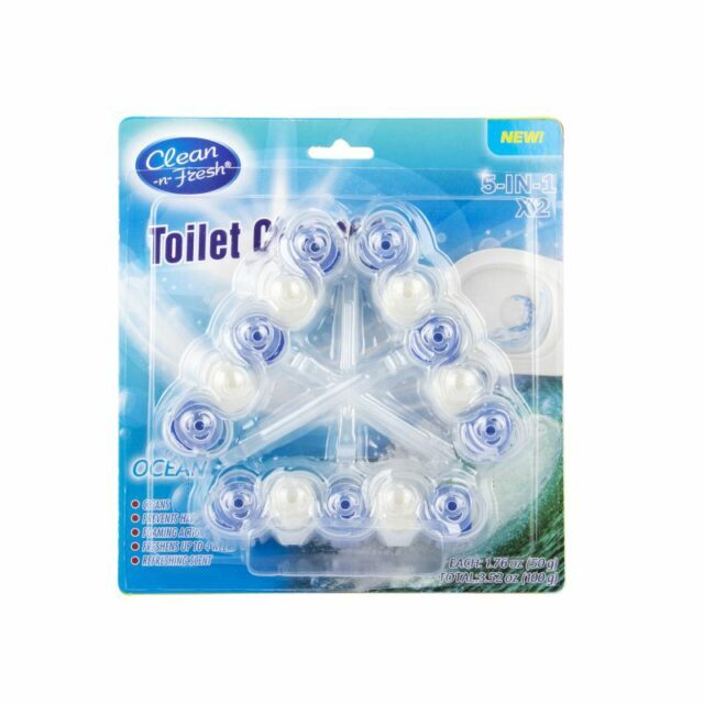 3PK Automatic Toilet Stain Remover Cleaner