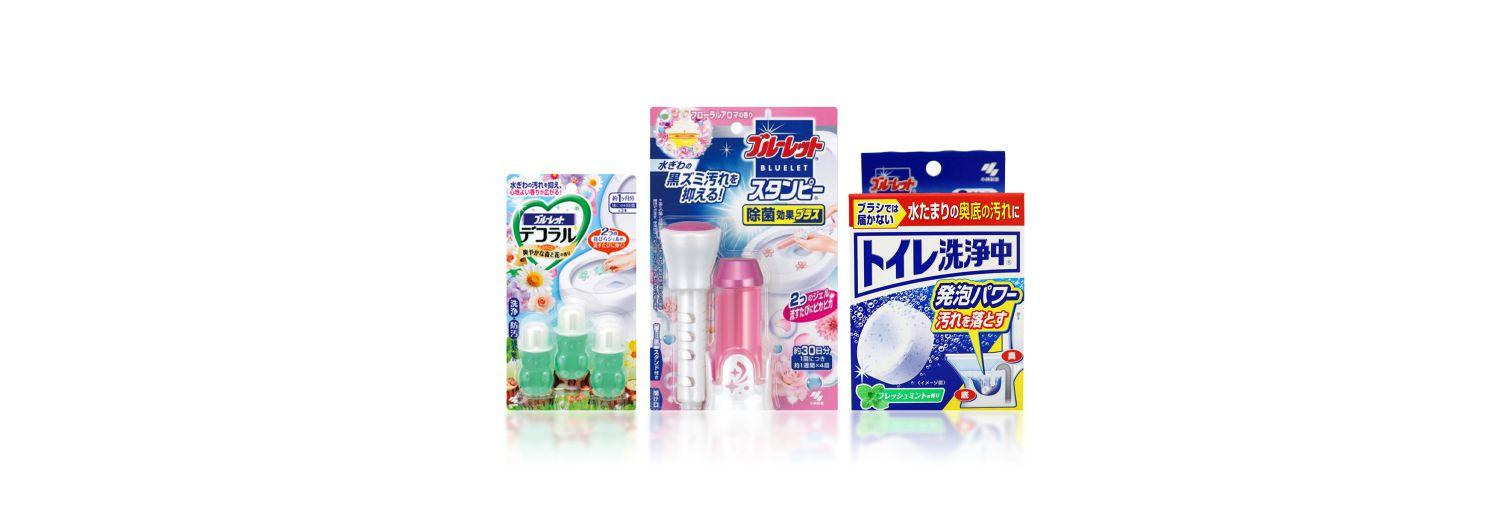 toilet cleaner brand 小林製藥