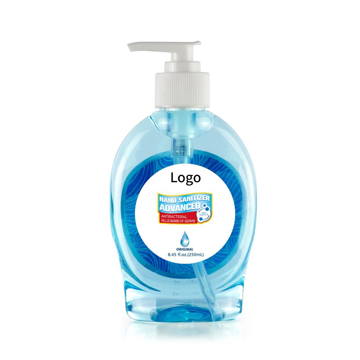 250ml antibacterial bulk hand sanitizer gel