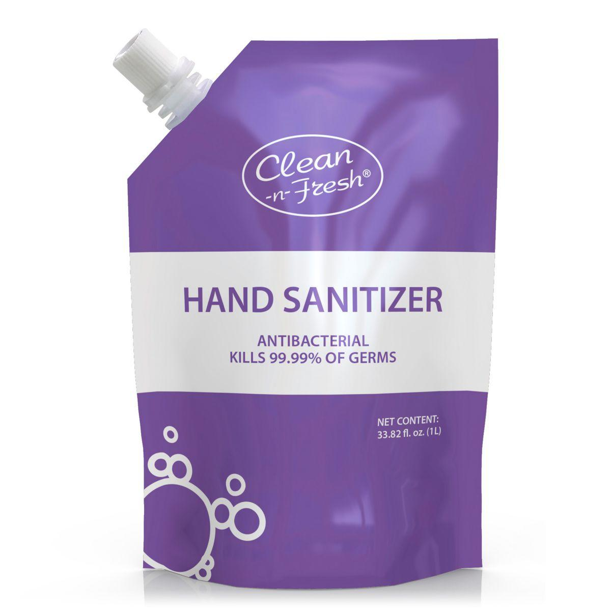 1L bath and body hand sanitizer