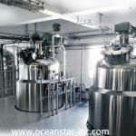 chemical reactor to manufacture hand sanitizer