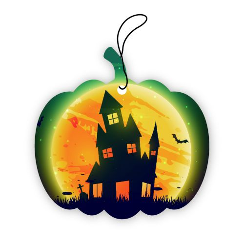 Halloween custom air freshener