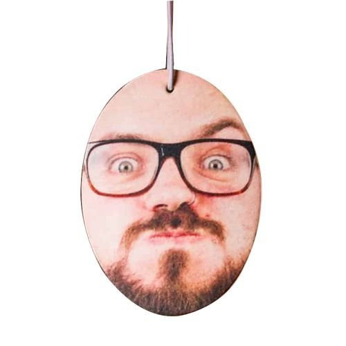 funny face personal car air freshener